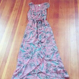 Japna Floral (Pink) Wrap Maxi